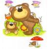 Kresby na stěny a ilustrace pro děti