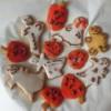 Halloweenské linecké cukroví od EVY