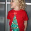 Vyrobte si s dětmi vánoční tričko