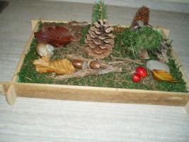 lesni paloucek dekorace