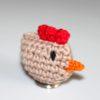 Návod na háčkované kuřátko