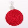 Návod na háčkovanou podložku pod hrneček ve tvaru vánoční ozdoby